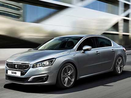Gamme Peugeot 508