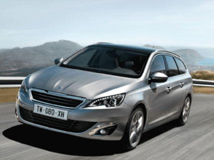 Gamme peugeot SW